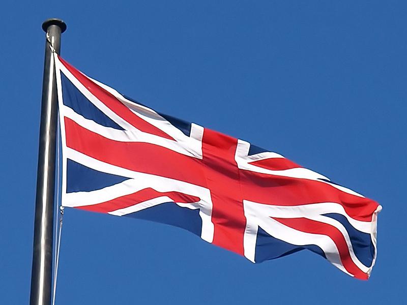 union jack national flag of the united kingdom (uk)
