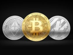 Bitcoin, Litecoin and Ethereum