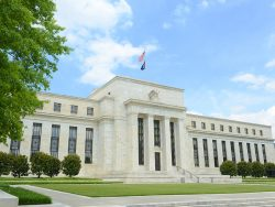 Federal Reserve Building is the headquarter of the Federal Reserve System and 12 Federal Reserve Banks, Washington DC, USA