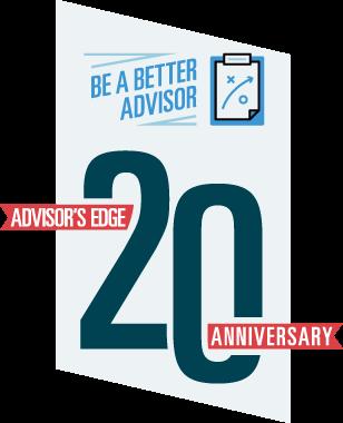 Advisor Edge 20th anniversary