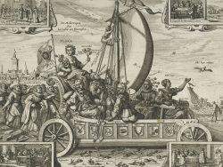 Hendrik Gerritsz Pot's 1637 Flora's Wagon of Fools
