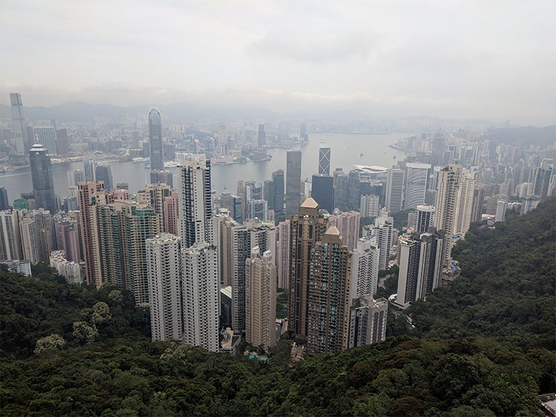 Hong Kong's skyscrapers