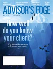 Advisor's Edge May 2019 cover