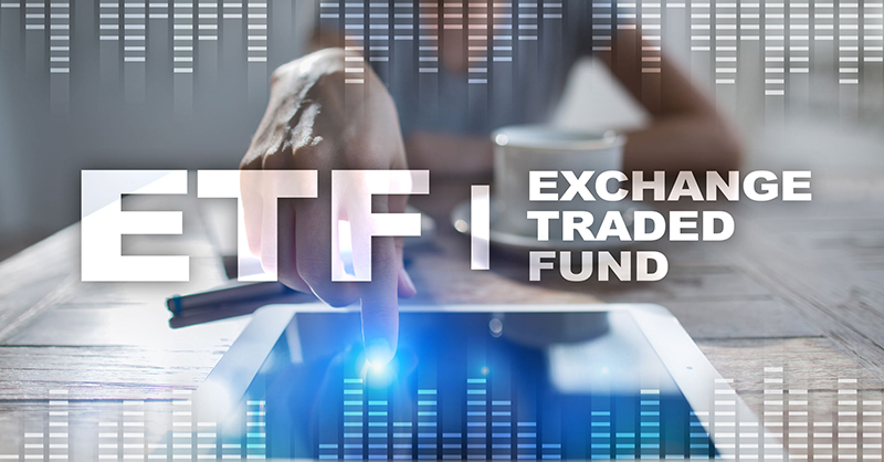 ETF. Exchange traded fund from B M O