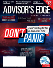 Advisor's Edge March 2020 cover