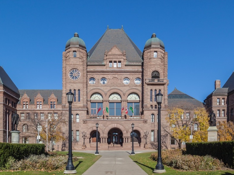 Ontario Queen's Park Legislative Building