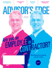 Advisor's Edge Fall 2020 issue