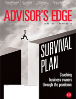 May 2021 Advisor's Edge cover