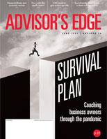 May 2021 Advisor's Edge cover