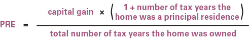 Home or cottage: Which should be a principal residence? equation