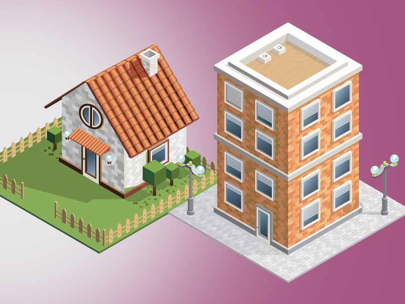 house versus cottage