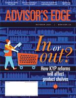 Advisor's Edge October 2021 cover